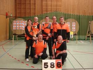 Gruppenbild Liga Mannschaft BSC Vorgebirge