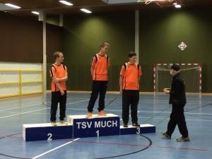 Recurve Junioren: Markus Offermann, Marco Sander und Jens Lammerich