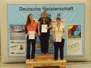 Margit Bumke auf Platz 2