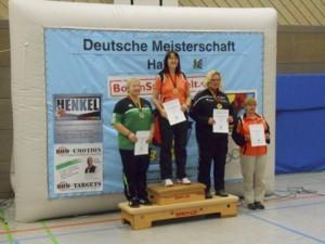 Heike Bumke Deutsche Meisterin Damen Ü50 Compound DBSV Halle 2016