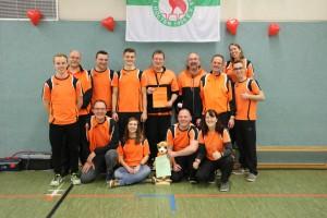 BSC-Team und Fans in Holten