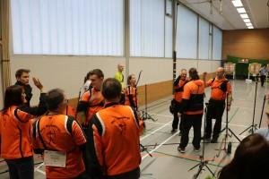 Match gegen Laufdorf