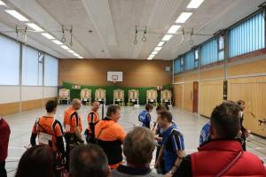 entscheidendes Match gegen Sherwood BSC Herne