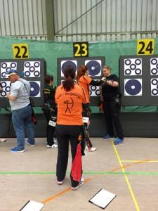 Wettkampfscheibe Deutsche Meisterschaft Halle DFBV 2016