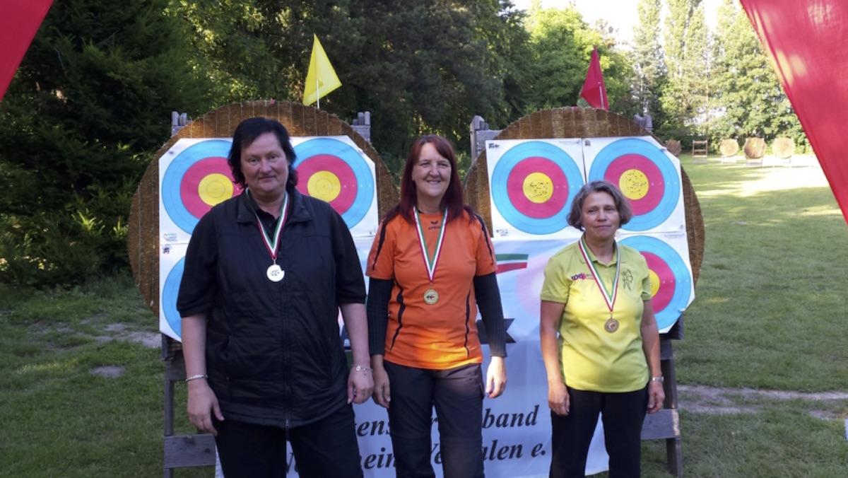 Heike Bumke, mit 344 Ringen neuen Deutschen Rekord auf 40 m (wieder einmal)!!!!