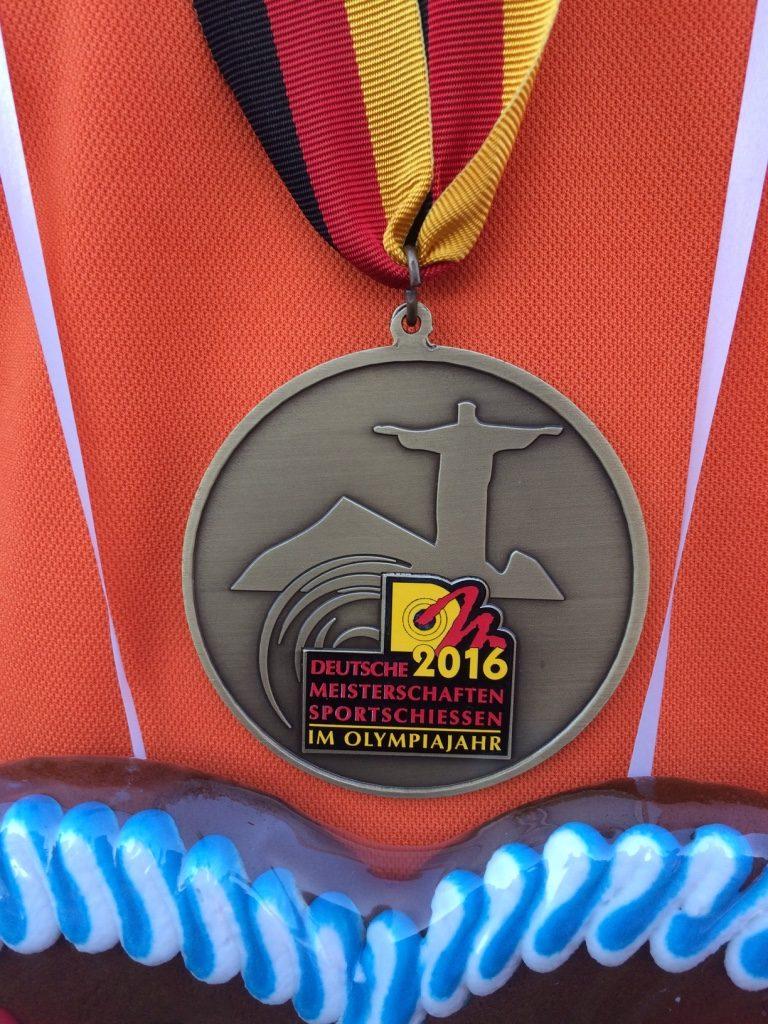 Bronze Medaille DSB WA im Freien 2016