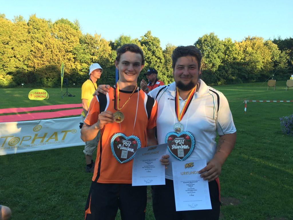 Carlo Schmitz und Christoph Breitbach Medaillengewinner für den Rheinischen Schützenbund