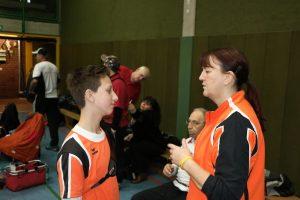 Unsere Jugendschützen werden von Heike und Bernd gecoacht.