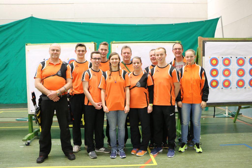 Team Vorgebirge mit Fans