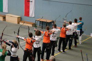 Die Juniorenmannschaft auf dem Weg zum Sieg.