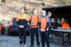 Christoph, Markus und Marco: 1.-3- Platz Recurve Junioren